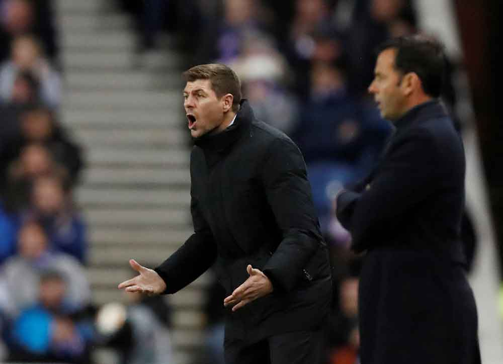 Gerrard Confirms He'll Make A Late Call On Whether To Select Key Rangers Star Against Benfica