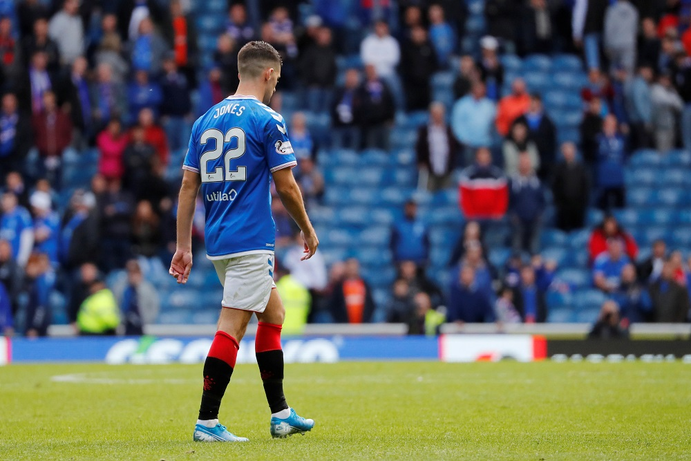 """Hutton Backs January Sale Of Rangers Star Who Has Been """"Giving The Manager A Headache"""""""